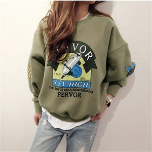 ARMY Women's Cartoon Pullover