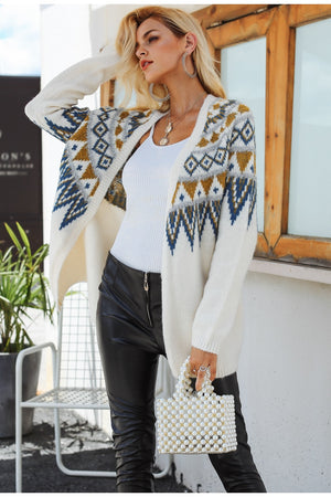 CARA Knitted Cardigan Sweater
