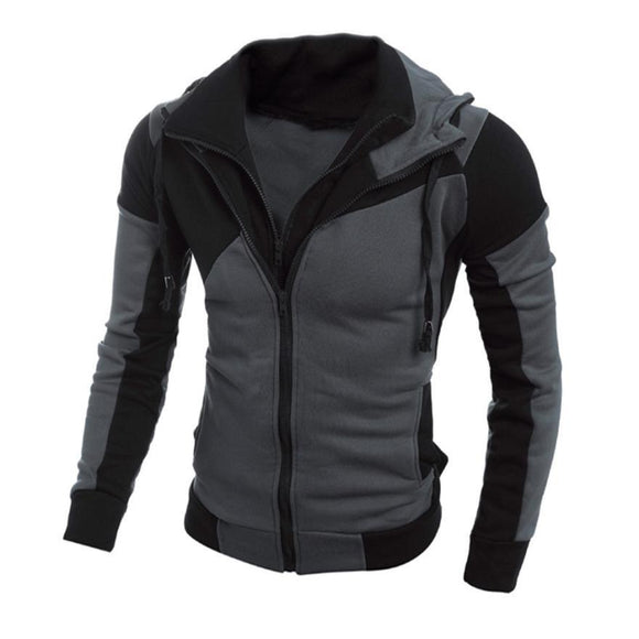 Winter Long Sleeve Hoodie Jacket -  - Drako Store