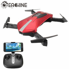 High Quality Eachine E52 RC Selfie Drone With Foldable Arm 4CH 2.4G 0.3MP Camera WiFi FPV RC Quadcopter BNF RTF VS JJRC H37