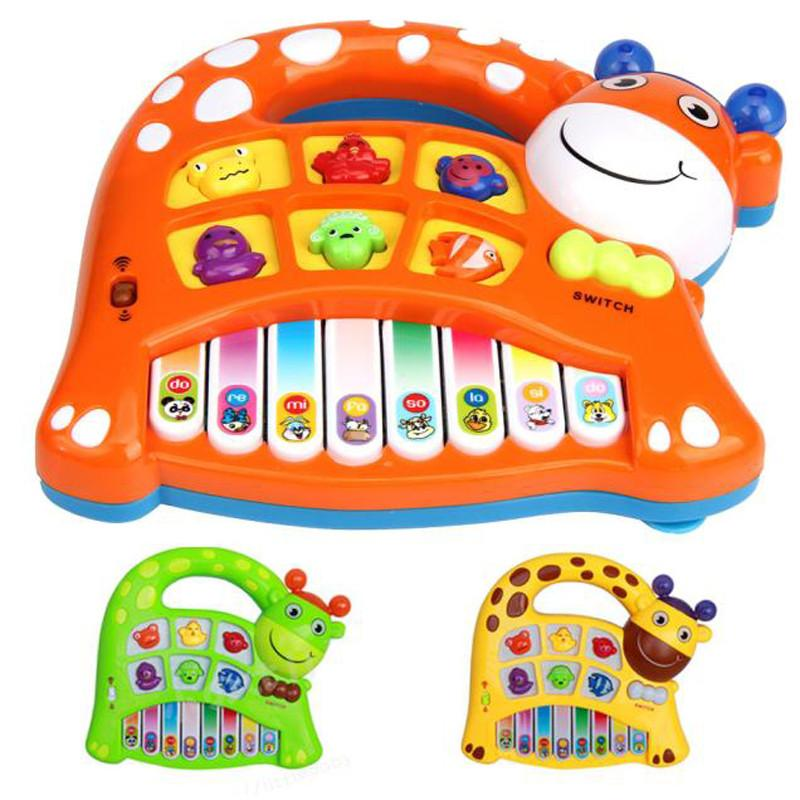 Baby Kids Musical toy Educational Animal Farm Piano Developmental Music Toys for children kids Music instrument Keyboard