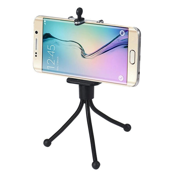 2016 New Arrival Strick Portable Universal Monopod Tripod +Clip Holder For iphone For Samsung Camera -  - Drako Store