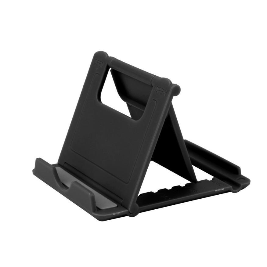 2017 Foldable Cradle Universal Phone Holder Grip Bracket For Tablet Phone Stand Multi-angle Desktop Holder For iPhone 7 Samsung