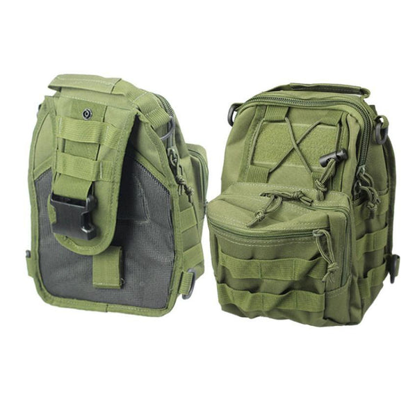 Molle Sling Chest Bag Assault Pack Messenger school backpacks for boys