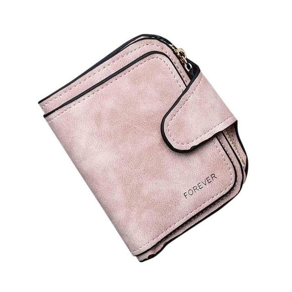 Xiniu Women Wallets Retro Zipper Hasp Coin Purse Women Short Wallet Card Holders Handbag -  - Drako Store
