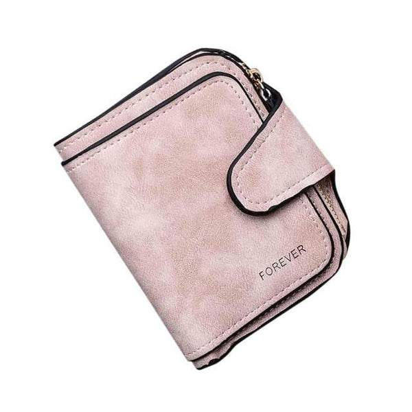 Xiniu Women Wallets Retro Zipper Hasp Coin Purse Women Short Wallet Card Holders Handbag