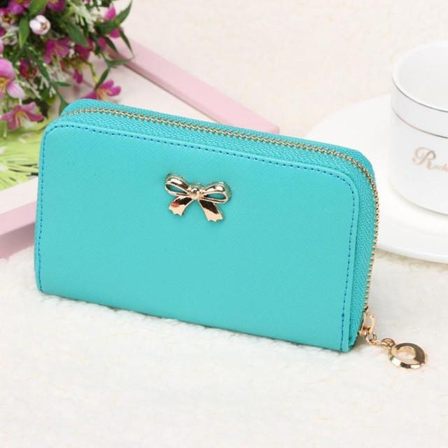 Xiniu womens wallets and purses women's leather zipper wallets female short clutch carteira feminina portefeuille femme #0517SB