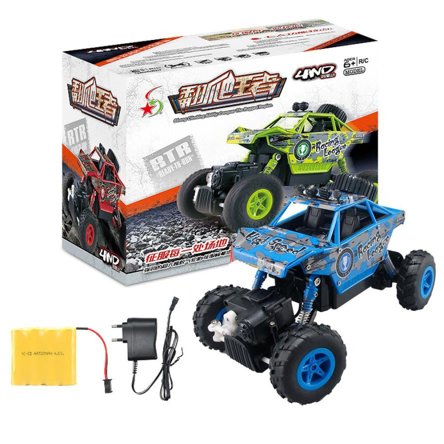 1/20 2.4GHZ 4WD Radio Remote Control Off Road RC Car ATV Buggy Monster Truck Dirt Bike RC toys for children#yh