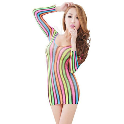 Sexy Color Womens Lingerie Dress Underwear Sleepwear Chemise Dress