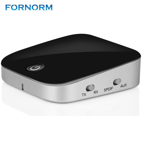 FORNORM 2 in 1 Wireless Bluetooth  Audio Transmitter  Receiver Music Stereo Dongle Adapter Support for Home Car Stereo System TV