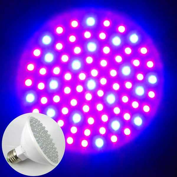 Hydroponic Plant Grow Growth Led Light E27 RED and BLUE 80 LED 4.5W Red 60 and  Blue 20  LED Light Bulb AC220V AC110V