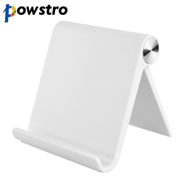 Foldable Tablet Phone Holder Stand Desk Bracket Holder Adjustable Angle Universal for Tablet Mobile Phone 5-11 Inch