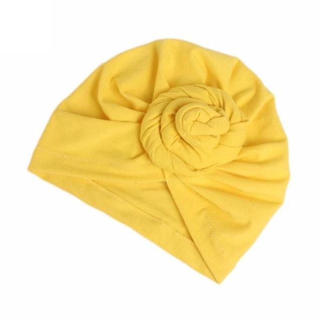 feitong Winter Hat for Women Ladies Boho Cancer Hat Beanie Scarf Turban Head Wrap Cap Elastic cotton  Solid Bonnets Hats