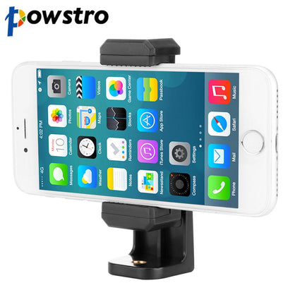 "360 Degree Rotation Cell Phone Mount Holder Bracket Stand 2 1/4"" Screw Hole for Selfie Stick Tripod for Xiaomi Samsung IPhone"