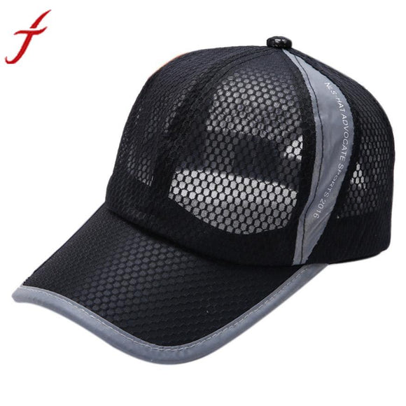 56-59CM Baseball Cap 2017 Fashion Summer Breathable Mesh Men Women Solid Hats Sons Snapback bones masculino -  - Drako Store