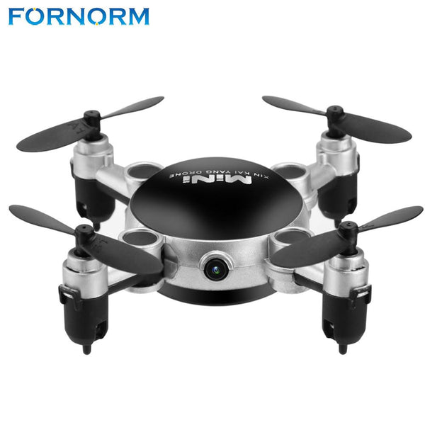 FORNORM KY901 Mini Quadcopter Wifi RC Drone with Camera 2.4G 4CH 6-Axis Gyro 360 Degree Roll Foldable Aircraft Helicopter 0.3MP