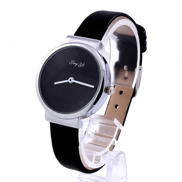 Simple Fashion Men Quartz Leather Wrist Watch -  - Drako Store