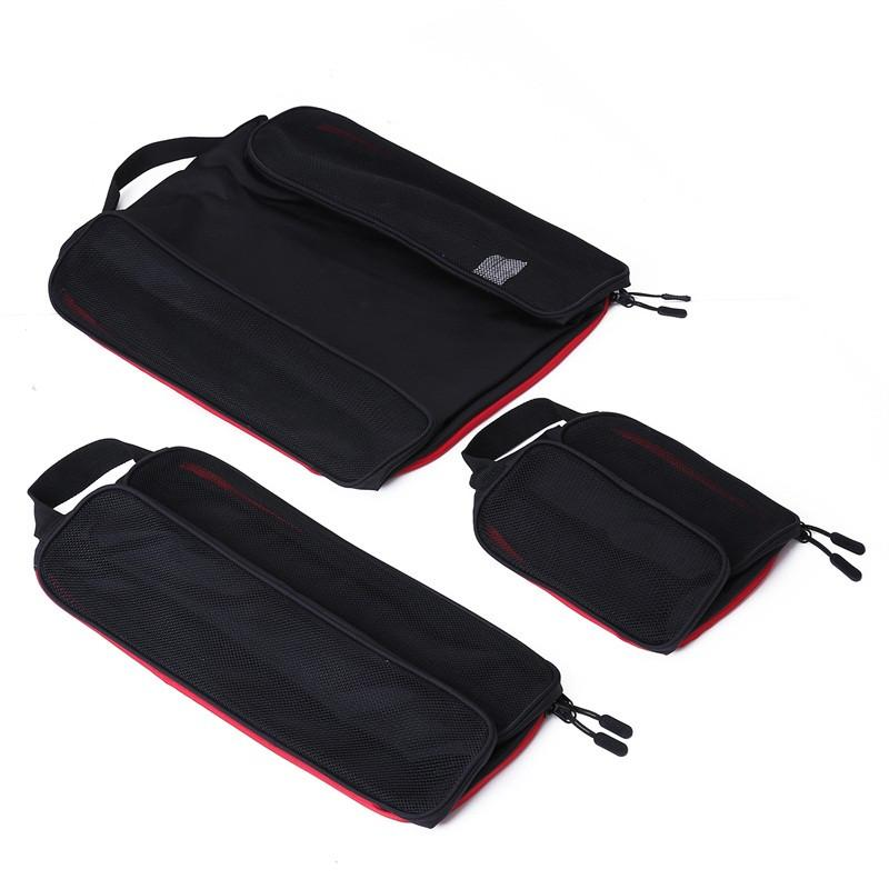 BAGSMART New Breathable Travel Accessories 6 Set Packing Cubes Luggage Packing Organizers Bag Fit 24