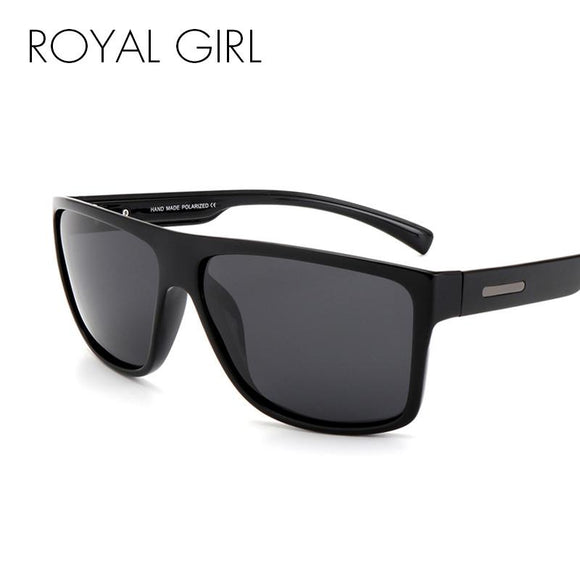 ROYAL GIRL Men Polarized Sunglasses Classic Brand Designer Men Oval Driving Shades Sun glasses UV400 ms017 -  - Drako Store