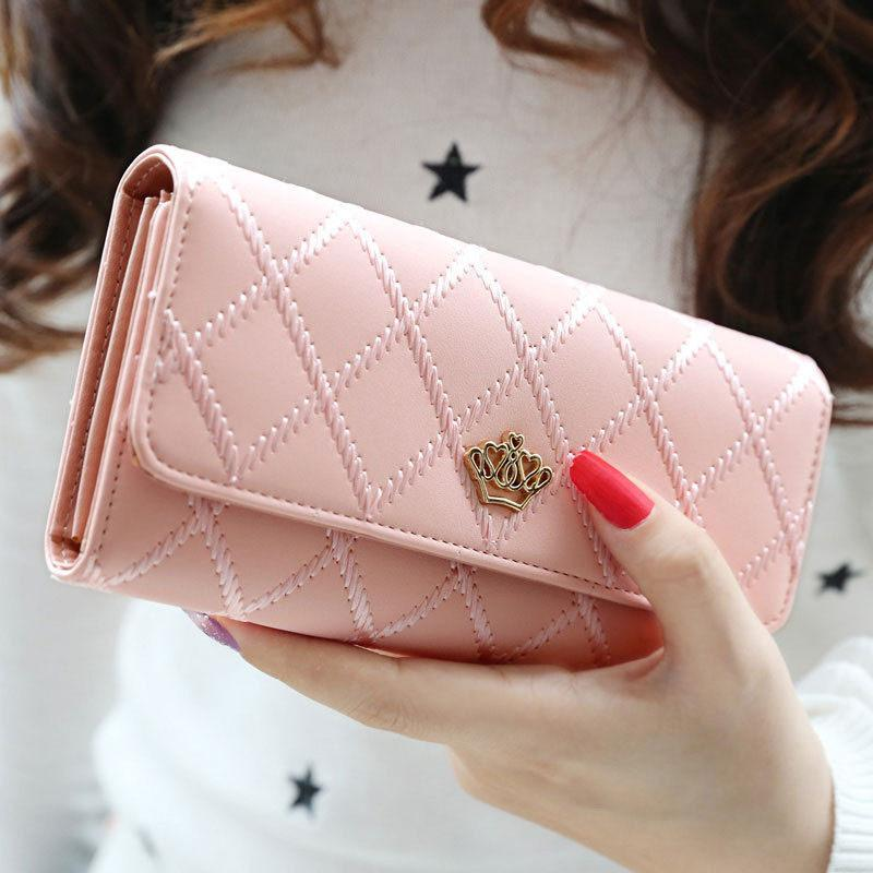 Lady Women Clutch Long Purse Leather Wallet Card Holder Handbag Bags