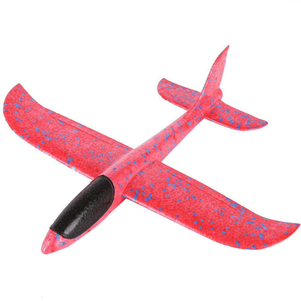 Foam Throwing Glider Airplane Inertia Aircraft Toy Hand Launch Airplane Model