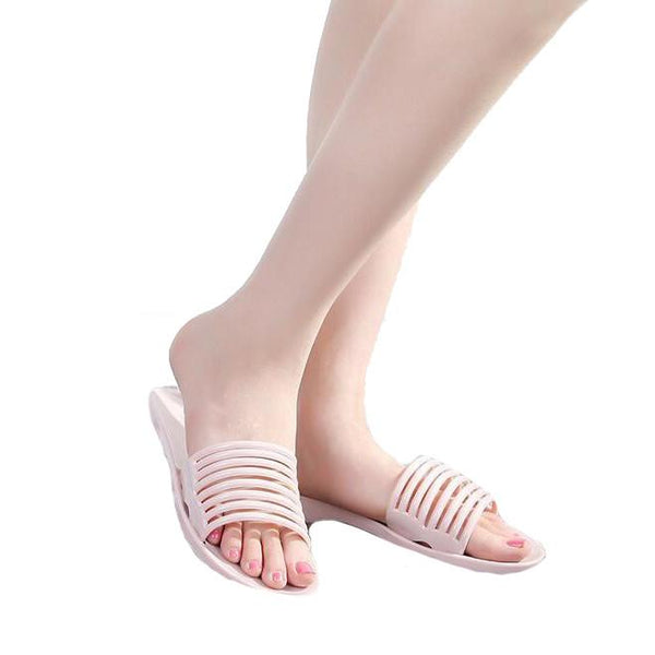 Summer jelly shoes candy color indoor home slippery slippers