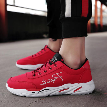 Men's Casual Sport Shoes Spring Travel Shoes Breathable Lace-up Sneakers