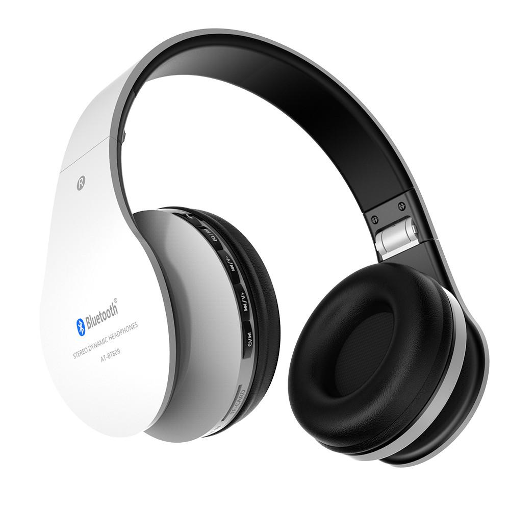 AT-BT809 Bluetooth Headphones wireless headset handsfree for music player