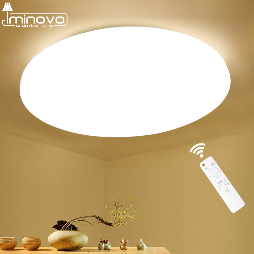 Modern LED Ceiling Light Lighting Fixture Lamp Surface Mount Living Room Bedroom Bathroom Remote Control Home Decoration Kitchen