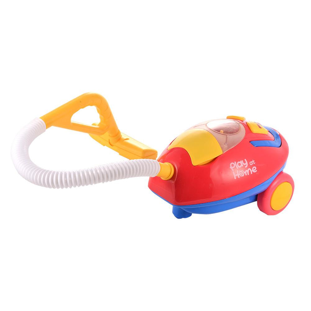 Toy Vacuum Cleaner Housekeeping Toys for Kids Pretend Play Game with Light