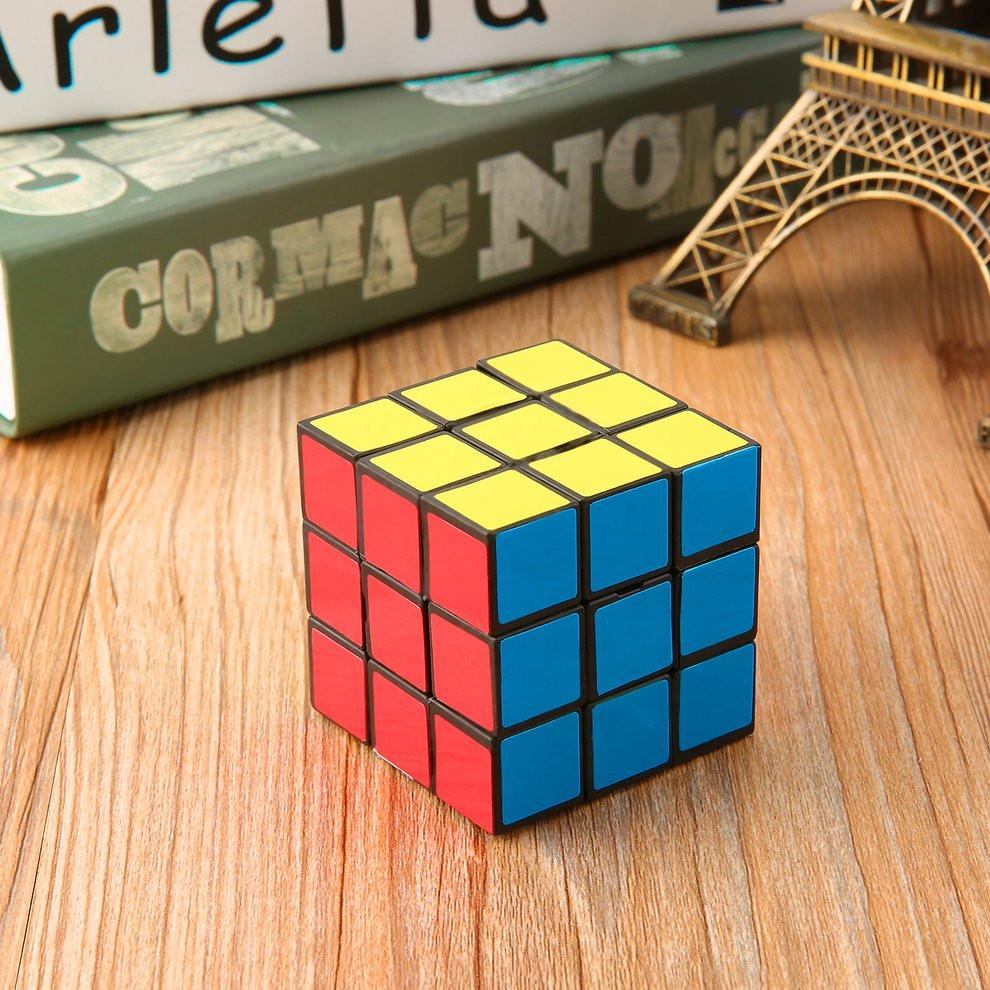 Fashionable Mini Portable Square Magic Puzzle Cube Speed Puzzle Twist Intelligence Test Toy Adult Children Toys for Gift