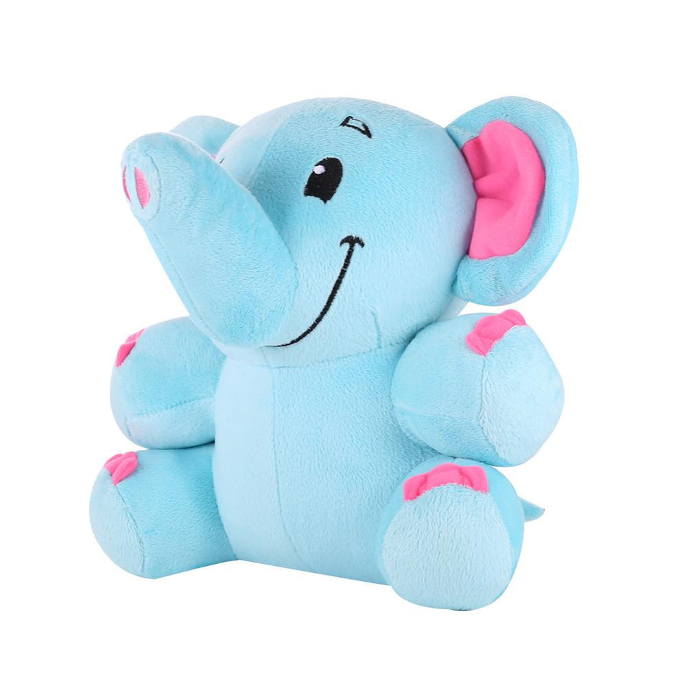 Elephant Stuffed Animals Plush Toys - Blue