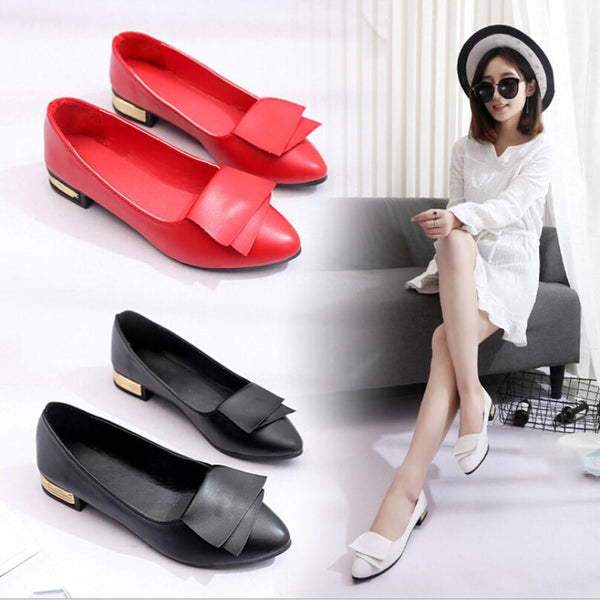 Women Summer Office Shoes Pumps Wedding Office Lady Dress Pointed Shoes Slip