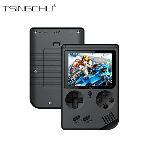 TSINGO Portable Retro Mini Pocket Handheld Game Player 168 Classic Games Support TV Output Video Game Console Best Gift For Kids