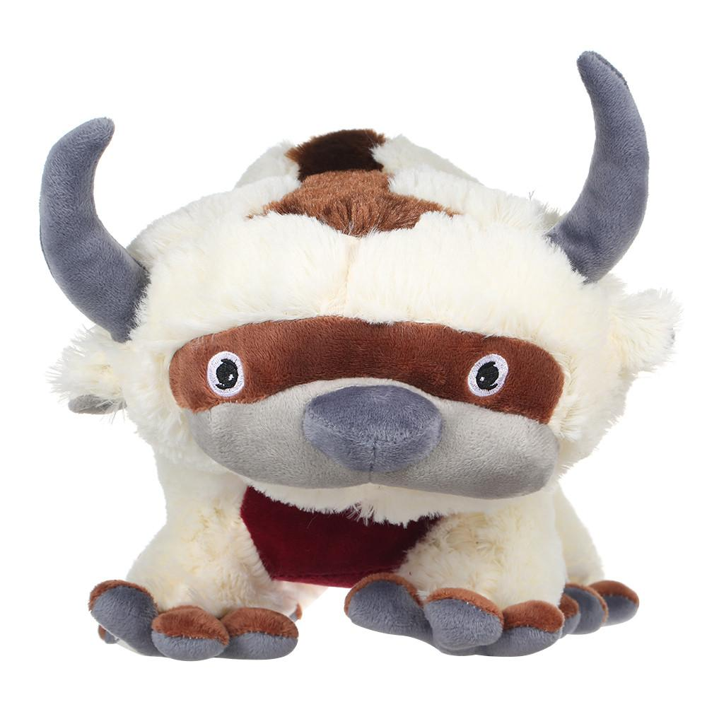 50CM The Last Airbender Resource Appa Avatar Stuffed Animals Plush Doll Cow Ox Toy Gift