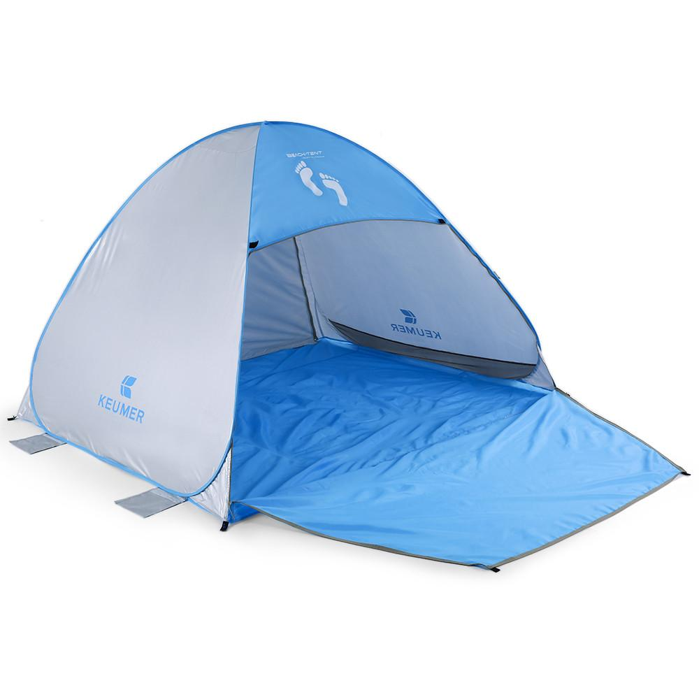 "Instant Automatic Pop Up Beach Tent (71"" + 37"") * 79"" * 53"""