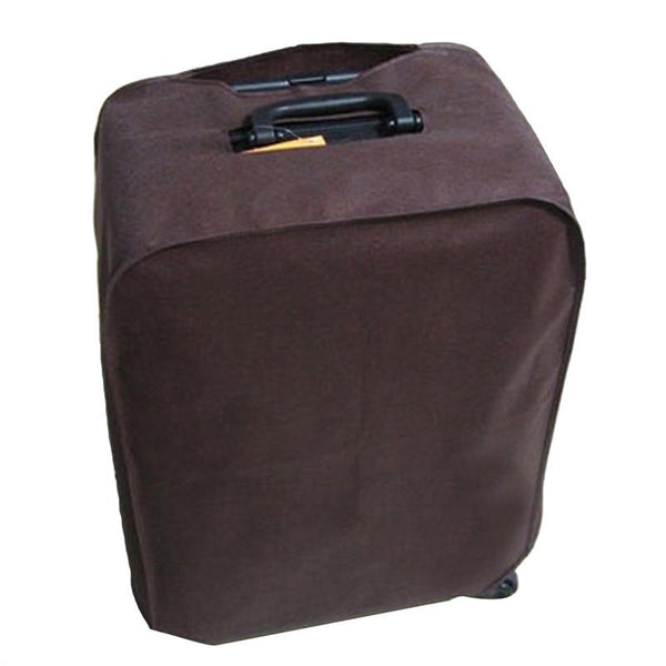 Foldable Waterproof Dustproof Luggage Cover Protector for 28-inch Trolley Case Suitcase