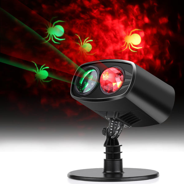 LED Light Projector,Waterproof Adjustable LED Landscape Lights Halloween Decorations Waterproof Outdoor Indoor Party Light