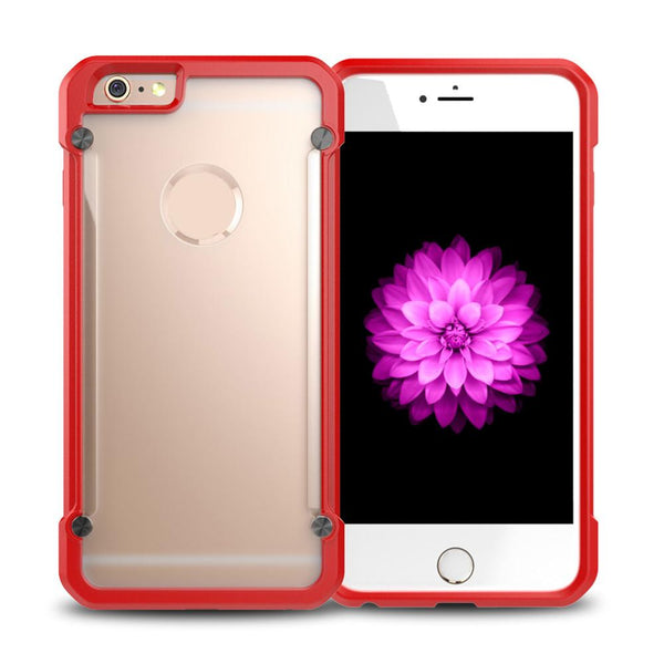 Beetle Cellphone Case for IPhone 6/6Splus Perfect Touch TPU Soft Border Hard PC Backboard Protective Cover