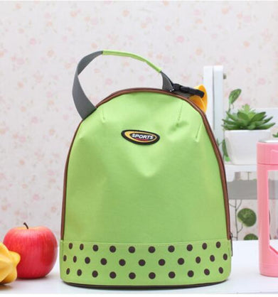 preservation ice pack Insulation lunch bag Lunch lunch box bag Portable hand ice pack Wave point milk bottle bag