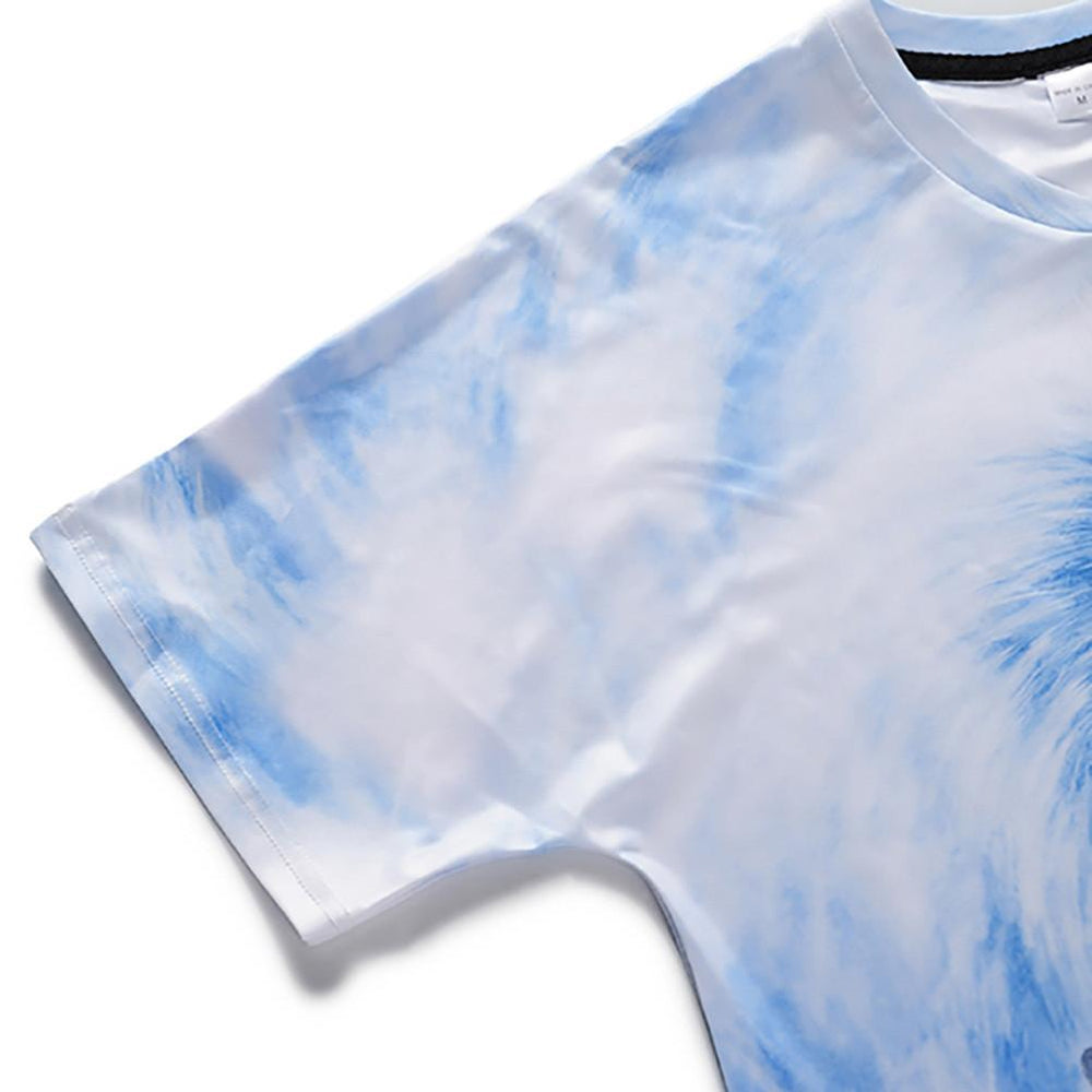 Cool T-shirt 3D T-shirt Print Two Wolves Short Sleeve Summer Tops Tees Tshirt Fashion Animal Print Shirt