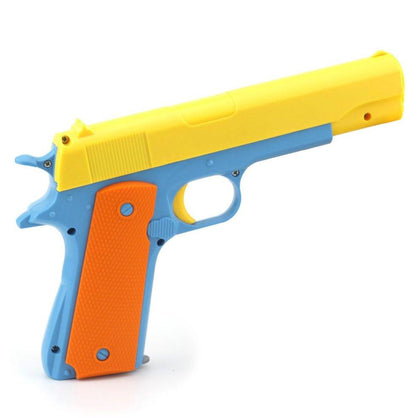 Toy Gun Children Toys Semi-automatic Toy Weapon With Soft Bullets Imitation Gun Military Models Funny Plastic Shooter