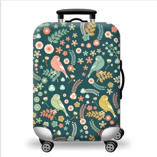 Luggage Cover Colorful Washable Travel Luggage Protector Luggage Suitcase Cover