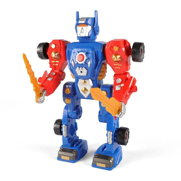 31 Apart Modification Pieces Transform Robot Model Toy Building Kit Construction Toy With Safety Power Drill For Children Toy