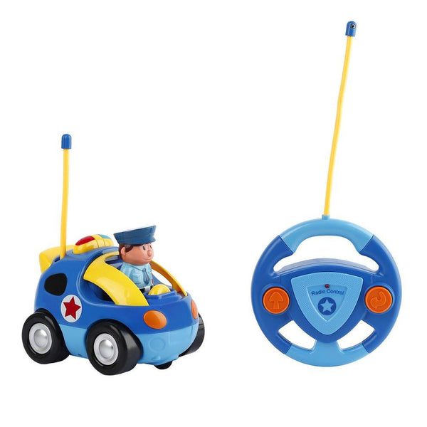 Mini Cartoon Astronaut Remote Control Race Car With Music & Light Children Educational Toy For Baby