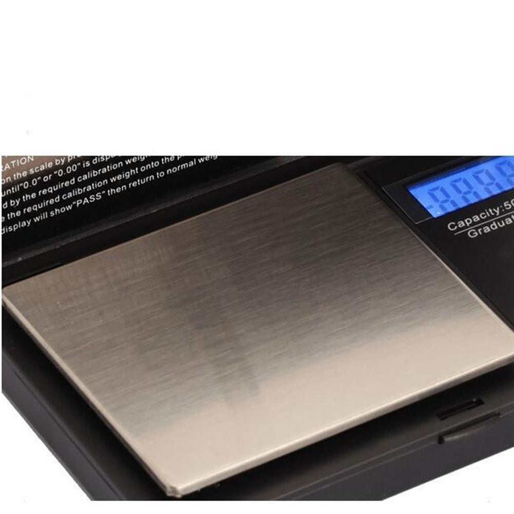 Miniature Electronic Jewelry Scale 500G/0.01G High Precision Jewelry Scale Balance Electronic Digital Packet Scale