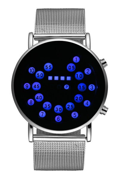 Unique Personality Digital Watch Men Wrist Watch Fashion LED Watches