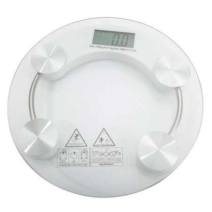 396lb 180KG Bathroom Digital Electronic Glass Weighing Body Weight Scale