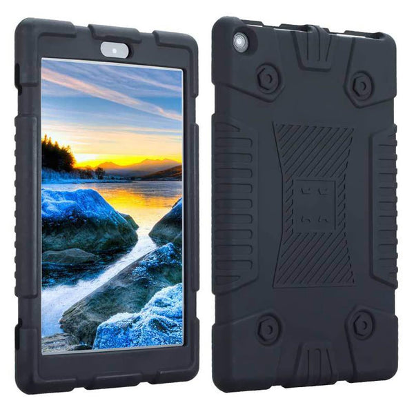 Shockproof Full Coverage Tablet Case Ultra-thin Compact Case for Amazon Kindle Fire HD8 Protection