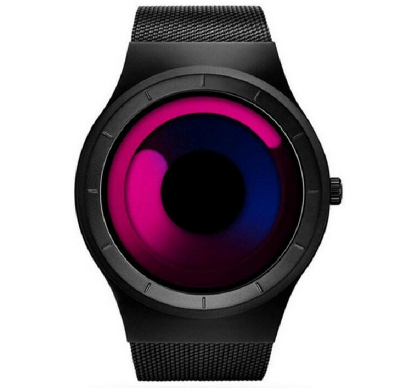 SINOBI Wrist Watch Men Luxury Creative Watches Fashion Aurora Men'S Watch